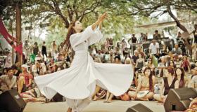 Sufi festival v Arava 2015